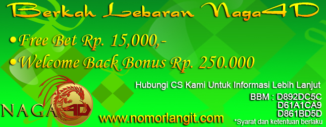 Promo Freebet Lebaran & Welcome Back
